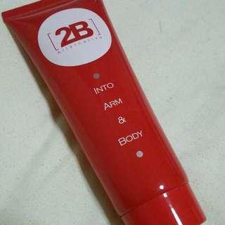 2B alternative into arm & body