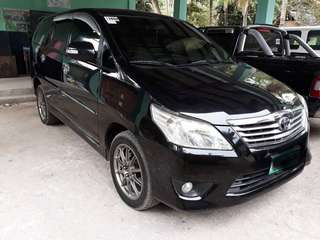 Toyoto Innova G manual diesel 2014 model. Price negotiable