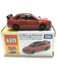 Tomica TDP Subaru WRX STI