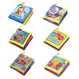 Infant Educational Cloth Book