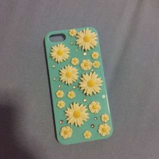 BLUE FLOWER CASE 3D