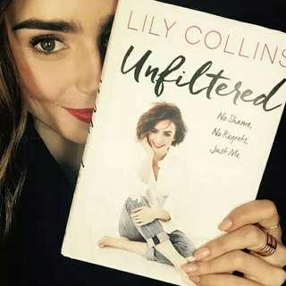 Lily Collins No Shame No regret Just me:)