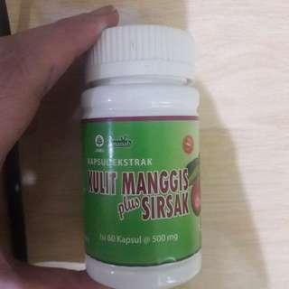 New Herbal Kulit Manggis dan Sirsak