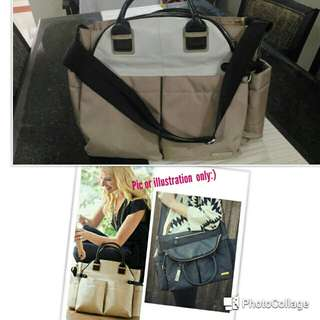 Giving away FOC SkipHop Chelsea Downtown Chic diaper bag