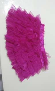 Tutu skirt for toddler