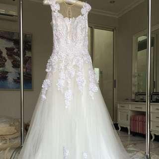 Wedding dress gaun pengantin baru