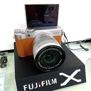 DP 0% Fujifilm X-A10 Brown Kredit Tanpa CC Gratis 1x