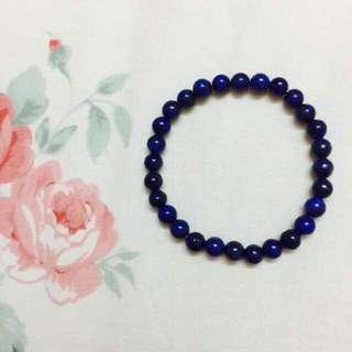 Natural Lapis Lazuli Crystal Bracelet - 6mm