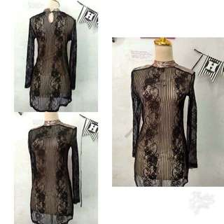 dress brukat