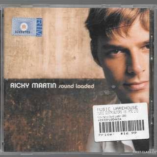 MY PRELOVED CD - RICKY MARTIN - SOUND LOADED /FREE DELIVERY (F3V)