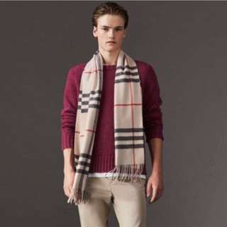 New Cashmere Burberry scarf