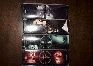 The X files. DVD. 1 - 8 full set.