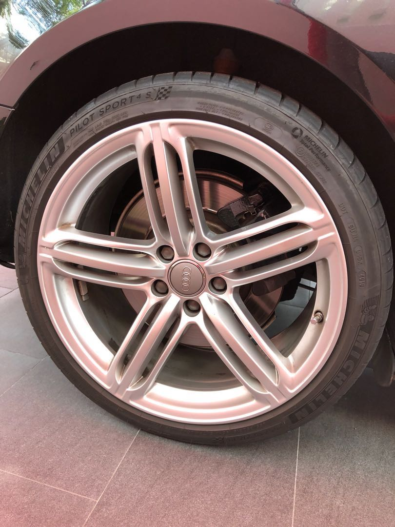 Audi S Rims Car Accessories On Carousell - Audi rims