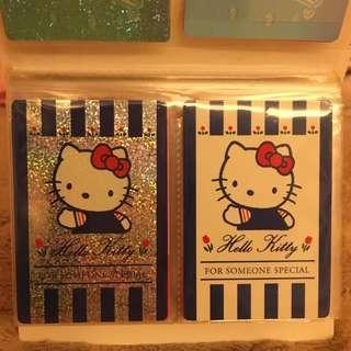 1999年代 Sanrio 絕版 Hello Kitty 收藏卡