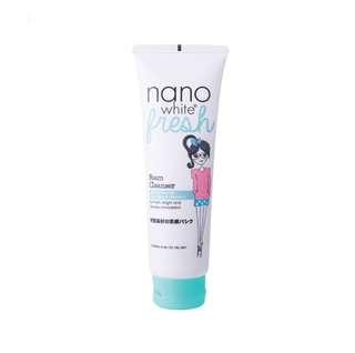 nano white fresh tea tree cleanser