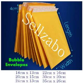 Protection Bubbles Envelopes Sellzabo For Fragile Items Protect Posting Stationery Sizes Kraft