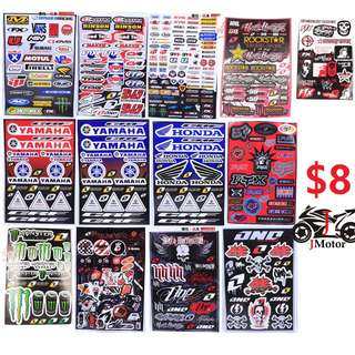 Logo Stickers Set / Decal Set