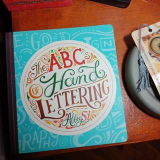 ABC Hand Lettering by Abbey Sy