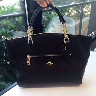 Coach Chain Prairie Satchel