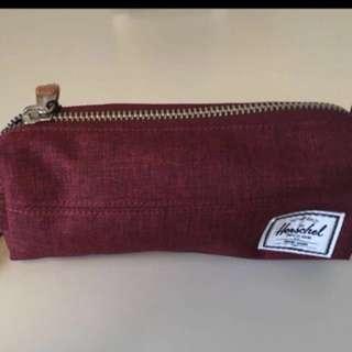 Herschel紅色(筆袋) 萬用袋