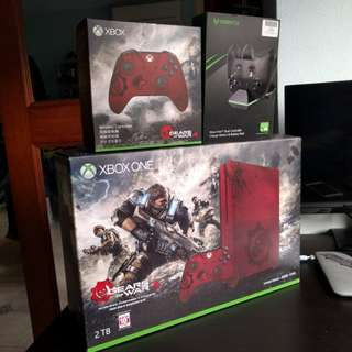 Xbox One S Gears Of War 4 2TB Limited Edition