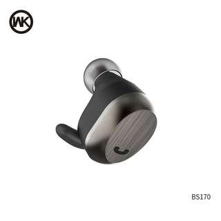 WK DESIGN BS170 無線藍牙耳機 4.2v 藍芽 單耳