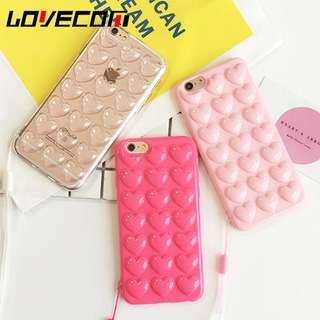 [PO] 3D Heart Phone Case