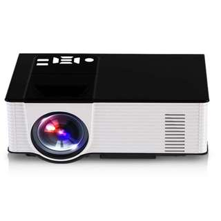 Home LED Mini HD Projector, Android 4.4 system, 1080P 2000 Lumens