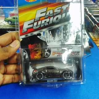 Hotwheels Fast And Furious Nissan 350z
