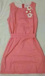 Pastel Pink Kid's Dress