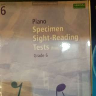 Grade 6 ABRSM Sight-Reading Tests
