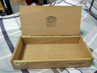 Partagas Cigar Box