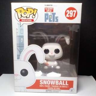 Funko POP! The Secret Life of Pets Snowball Vinyl Figure