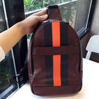 Coach Charles Pack in Varsity Leather