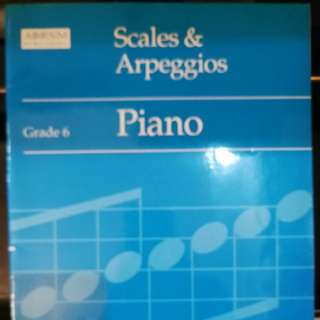 Grade 6 ABRSM Scales and Arppegios