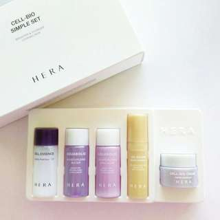 HERA Anti-aging and Whitening Trial Kit