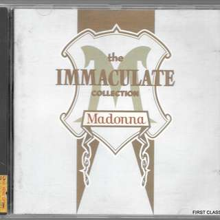 MY PRELOVED CD - MADONNA - THE IMMACULATE COLLECTION /FREE DELIVERY (F3V)