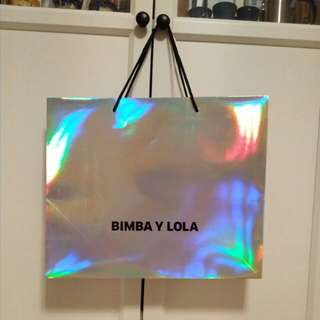 Repriced: Bimba y Lola carrier bag