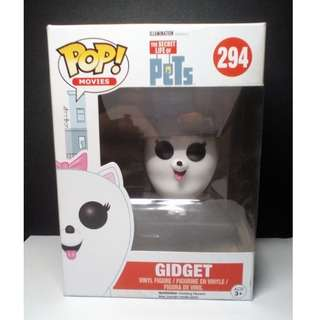 Funko POP! The Secret Life of Pets Gidget Vinyl Figure