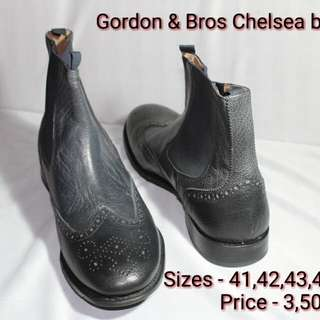Gordon & Bros mens leather shoes, authentic
