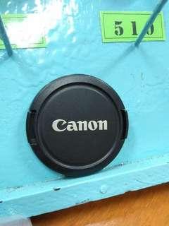 Canon Lens cover E-58mm