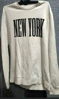 H&M New york sweater