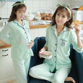 maternity Pyjamas confinement nursing top with pa