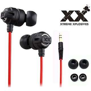 In Stock JVC HA-FX1X Xtremed Xplosives Stereo In-Ear Earpieces Earphones