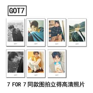 GOT7 POLAROID SET