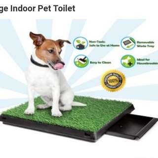 Pet grass potty