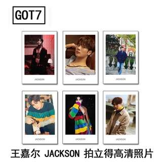 GOT7 JACKSON POLAROID SET