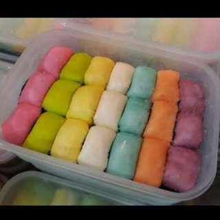 Pancake durian rainbow isi 21pcs