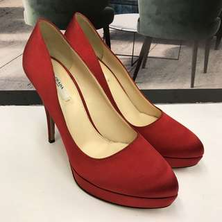 Prada Satin High Heel