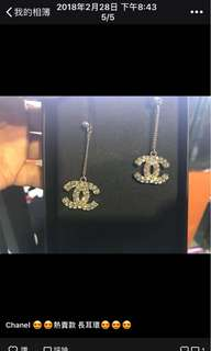Chanel 經典 熌石耳環 全新購自巴黎